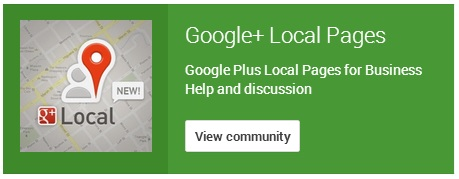 Google+ Local Pages Logo