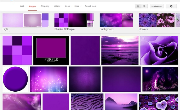 google-purple