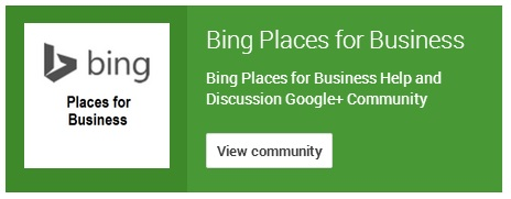 bing places community