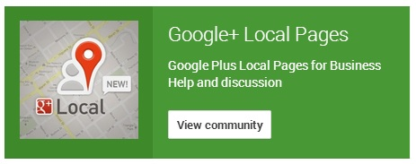 google plus local pages community