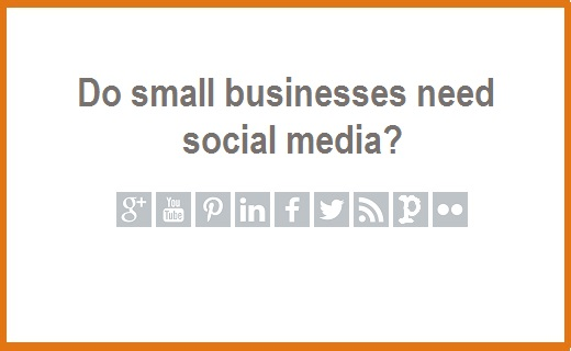 small business social media image
