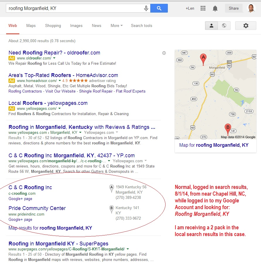 Business No Longer Showing in Google Places?