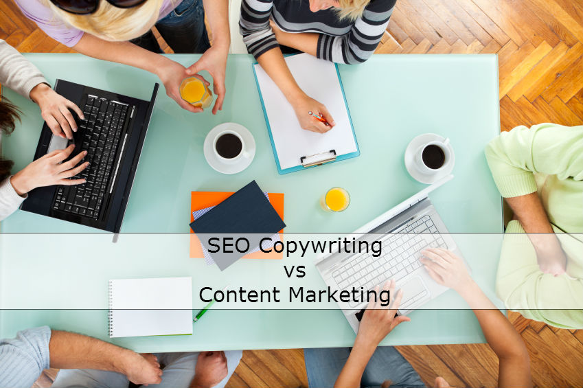 SEO Copywriting vs Content Marketing
