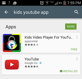 screenshot kids video player for youtube