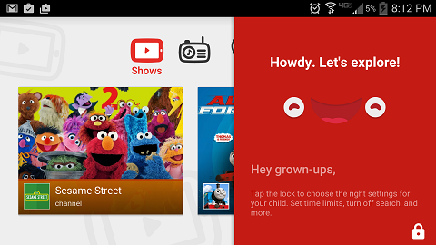 screenshot - youtube kids