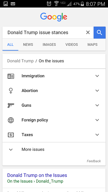on the issues screenshot2