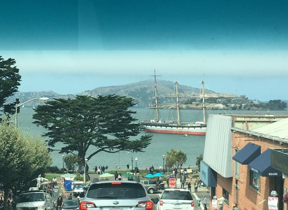 Here's a pic of SF a friend sent me in September 2016