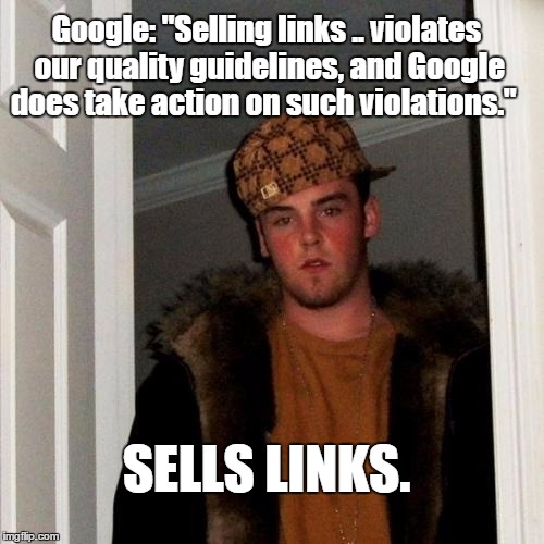 google-sells-links