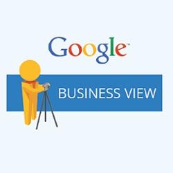 google maps business view logo