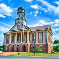 Pittsboro North Carolina in HDR 2014 - 2015