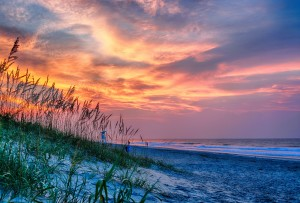 Emerald Isle Sunrise #CrystalCoast