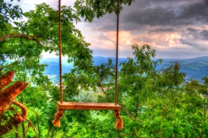 Howard's Knob Mountain Swing in Boone NC
