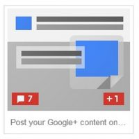 What are Google +Post Ads?