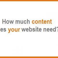 How much Content Does your Website Need?