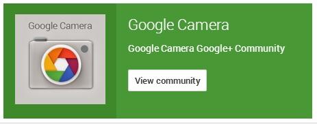 google camera community