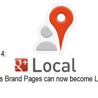 Google Plus Brand Pages can now become Local Pages