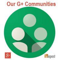 Google Plus Communities We Manage