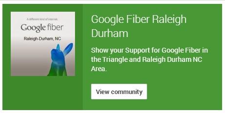 Raleigh Fiber Community