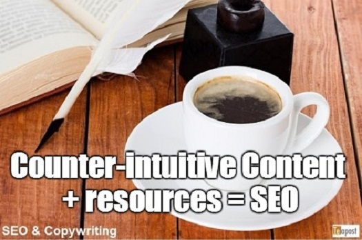 Counter-intuitive Content and Resources = SEO