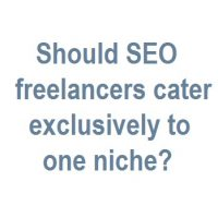 Should SEO Freelancers Cater to One Niche?