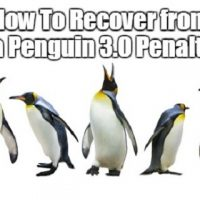 How To Recover from a Penguin 3.0 Penalty