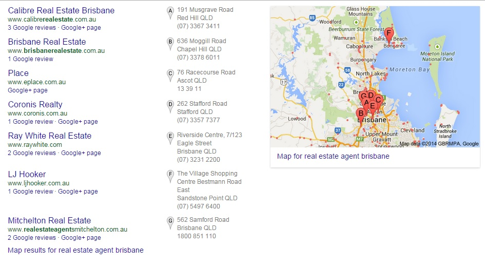 real estate brisban search results