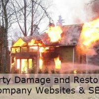 Property Damage and Restoration Company Websites & SEO