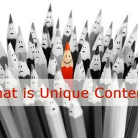 What is Unique Content?