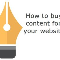 How To Buy Content for Your Website