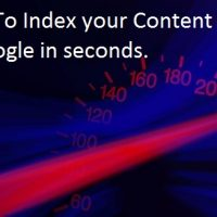 The Fastest Way To Index Content in Google: Fetch & Render