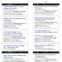 Google Mobile Friendly Search Results: Before & After April 23 2015 Update