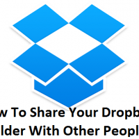 How To Share Your Dropbox Folder With Other People