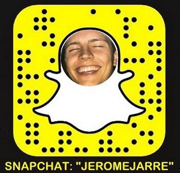 Jerome Jarre Snapcode