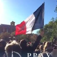 Pray For Paris Snapchat Story November 2015