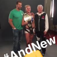 Rousey vs. Holm Snapchat Story November 2015