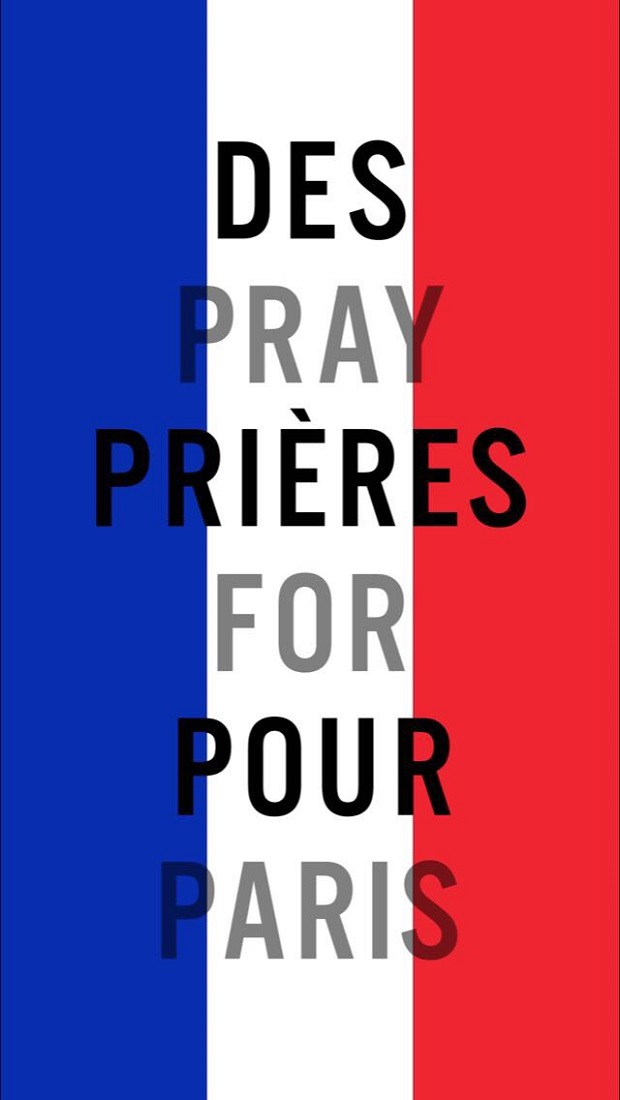 the snapchat pray for paris filter