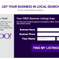 Yahoo Small Business Listing Problems – YEXT or Aabaco or Luminate?
