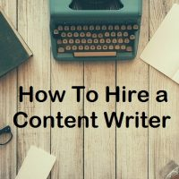 How To Hire a Full Time Content Writer