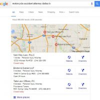 Google Local Search Results Affected by Content