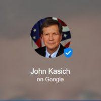 John Kasich Google Podium Posts Page