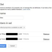 Combine Subdomains and Domains in Google Search Console