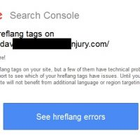 Errors in hreflang tags - Google Search Console Error Message