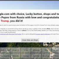 Google Analytics Vote For Trump Spam- secret.google.com