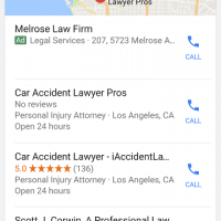 Google Testing Ads in Local Results and 4 packs in 2017
