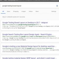 Google Testing Boxed Layout with Grey Background in SERPs in 2017
