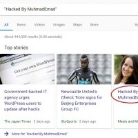 """Hacked By MuhmadEmad"" Now Affects 678,000 WordPress Websites - How To Fix Them"