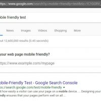 New Google Mobile Friendly Test Right in Search Page