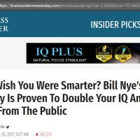 Bill Nye Brain Booster Business Insider Advanced IQ  [Scam]