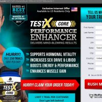 TestX Core Testosterone Booster [Scam]