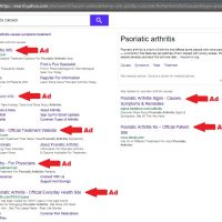 Is Yahoo Advertising Search Result and PPC Advertisements via Outbrain?